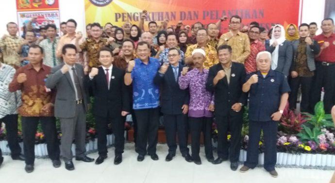 Pengukuhan Dan Pelantikan KSB Ekda Ekbang Ekdis dan EkcamGema Nusantara Se Indonesia