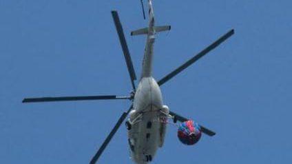 HELIKOPTER MI-17 MILIK TNI AD HILANG KONTAK LIMA MENIT MENJELANG LEPAS LANDAS