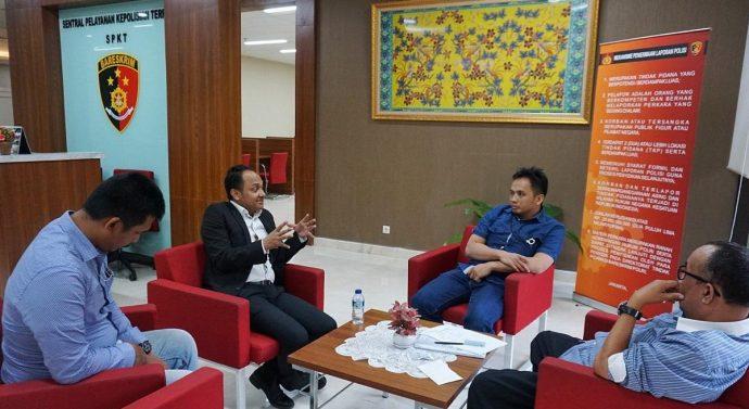 Senator DPD RI Fachrul Razi Laporkan Denny Siregar ke Mabes Polri