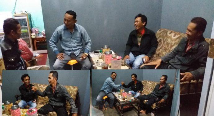 Kepala Desa Nampi Rejo. Lakukan MOU dengan Dua Media Nasional.