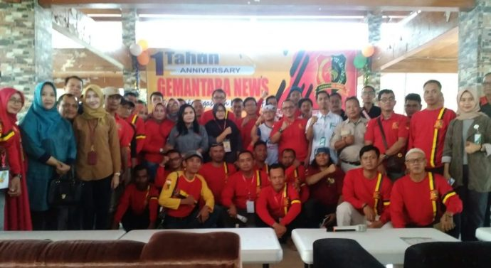 PENGURUS DAN ANGGOTA GEMA NUSANTARA SE INDONESIA HADIRI ACARA ANNIVERSARY 1TAHUN GEMANTARANEWS,