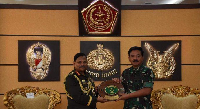 PANGLIMA TNI TERIMA KUNJUNGAN KEHORMATAN KASAD BANGLADESH