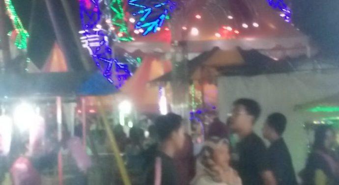 WARGA ANTUSIAS SAMBUT HARI JADI KOTA METRO YANG KE-82 TAHUN