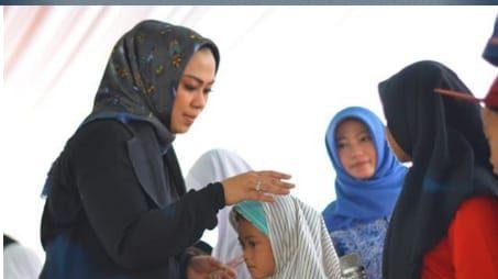 DALAM RANGKA MENYAMBUT 10 MUHARAM 1441 H/2019 M. MEMBERIKAN SANTUNAN KEPADA YATIM PIATU DAN DHU'FA