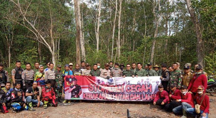 UTUK MENGANTISIPASI KEBAKARAN HUTAN DAN LAHAN (KARHUTLA) TNI DAN POLRI, ADAKAN KEGIATAN PATROLI GABUNGAN