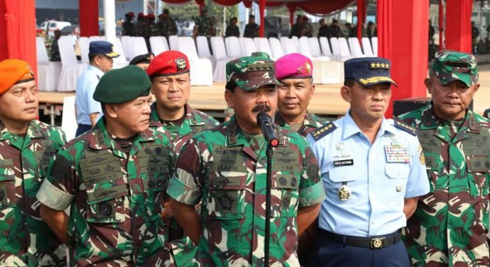 TNI SIAP AMANKAN PELANTIKAN PRESIDEN  DAN WAPRES RI