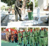 HUT. TNI KE- 74 TAHUN 2019 KEGIATAN APAEL DI MAKODIM 0604 KARAWANG