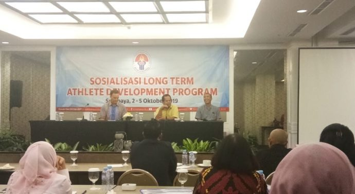 KEMENPORA GELAR SOSIALISASI LONG TERM ATHLET DEVELOPMENT PROGRAM DI JATIM
