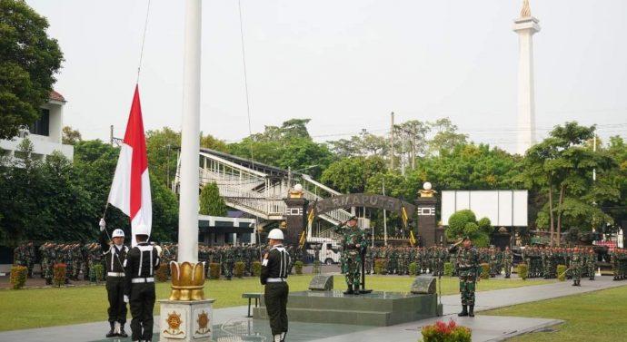 HARI SUMPAH PEMUDA KE-91 TAHUN 2019 UPACARA DIPIMPIN LANGSUNG PANGKOSTRAD