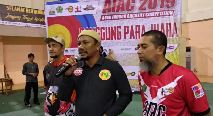 FADHIL RAHMI, Lc TUTUP EVENT ACEH INDOOR ARCHERY COMPETION 2019