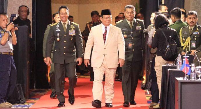 Pembukaan Pertemuan Multilateral Kepala Staf Angkatan Darat ASEAN Ke-20