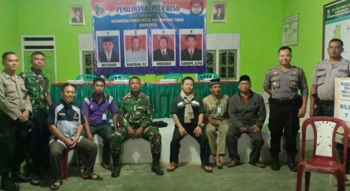 PEMERINTAHAN DAN TNI/ POLRI KECAMATAN PURBOLINGGO BERSINERGI ADAKAN PATROLI PERSIAPAN PILKADES SERENTAK.