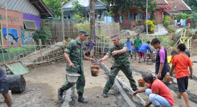 Binter Terpadu TNI terciptanya Soliditas dan Sinergitas antara TNI dengan Masyarakat.