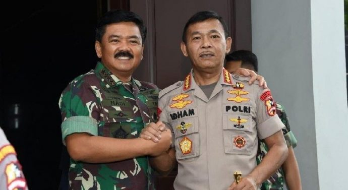SINERGITAS TNI-POLRI JAGA NKRI