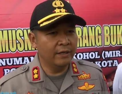 POLISI SELIDIKI TERHADAP ROBOHNYA MENARA GEDUNG DAKWAH PCNU KOTA SUKABUMI