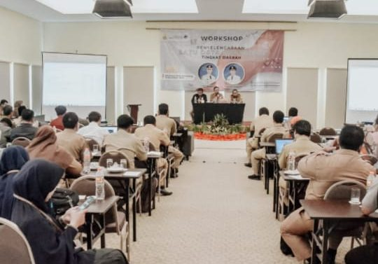 TEROBOSAN DISKOMINFO GELAR WORKSHOP SATU DATA INDONESIA