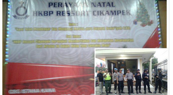 MALAM PUNCAK PERAYAAN NATAL JEMAAT GEREJA HURIA KRISTEN BATAK PROTESTAN (HKBP) RESSORT CIKAMPEK KARAWANG JAWA BARAT
