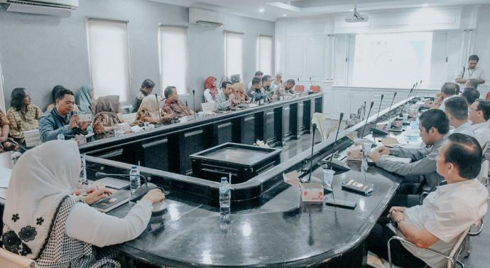 PEMDA KABUPATEN KARAWANG RAPAT PERSIAPAN GELAR CILAMAYA FAIR 2020