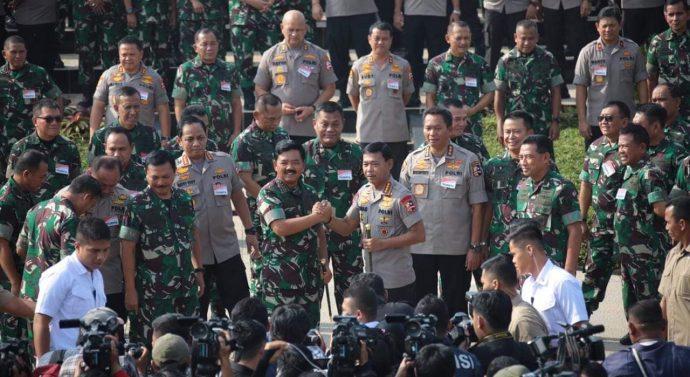 RAPIM TNI-POLRI 2020 PENGAMANAN PILKADA SERENTAK DAN PON XX DI PAPUA