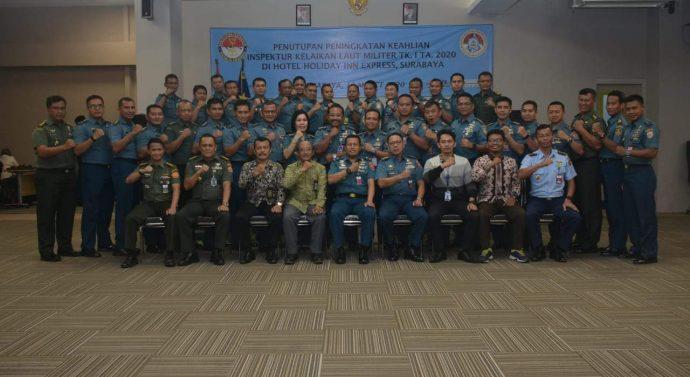 TNI AL RESMIKAN 31 INSPEKTUR KELAIKAN LAUT MILITER TINGKAT 1 KEMHAN RI