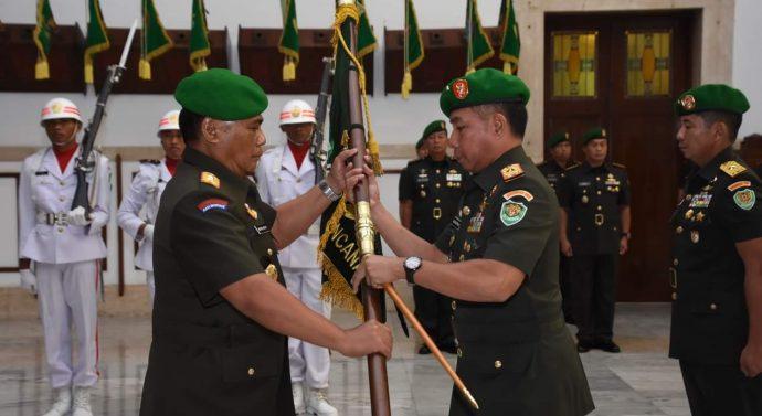 SERTIJAB DANREM 061/SK DI PIMPIN OLEH PANGDAM III/SILIWANGI