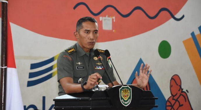 ASPERS KASDAM III/SILIWANGI BERI PENGARAHAN KEPADA ORANGTUA/WALI DAN CALON PESERTA SELEKSI TAMTAMA  PK TNI AD TAHUN 2020.