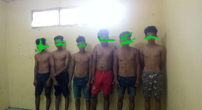 TIGA DPO KAWANAN PENCURI KAMBING TANAH LUAS BERHASIL DIBEKUK POLISI TANAH LUAS.