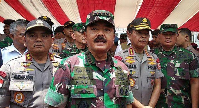 """WASPADA ! HOAX SOAL CORONA DIANGGAP LEBIH BAHAYA """" PUNGKAS PANGLIMA TNI"""