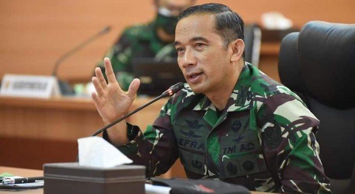 "PENERANGAN TNI AD HARUS BANGKIT DAN KREATIF "" PUNGKAS KADISPENAD KOL INF NEFRA FIRDAUS SE, MM"