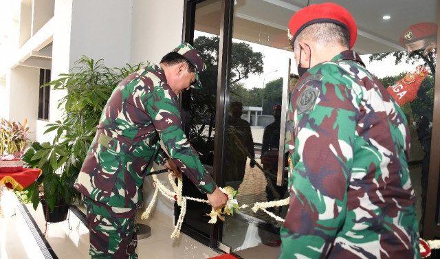KOMANDO OPERASI KHUSUS (KOOPSSUS) TNI RESMI MEMILIKI MARKAS KOMANDO