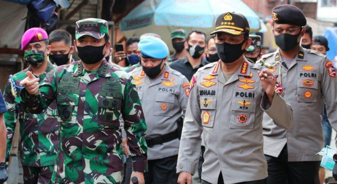 PANGLIMA TNI DAN KAPOLRI SIDAK RSKI PULAU GALANG BATAM