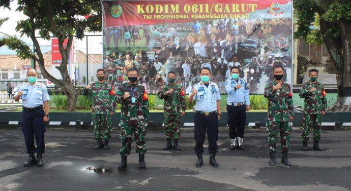 RUTAN GARUT BANGUN SINERGITAS DENGAN KODIM 0611/ GARUT
