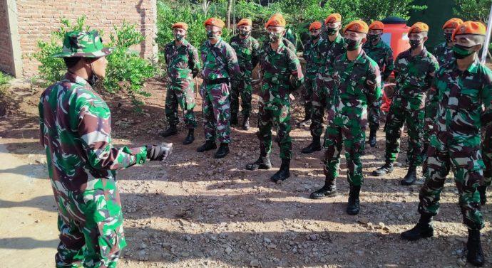 Pasukan Paskhas Bandung terjun ke TMMD 108 di Garut