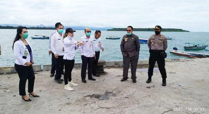 Pemerintah Kabupaten Nias Barat Tinjau Lokasi Objek Wisata Pantai Sirombu Gemantara News