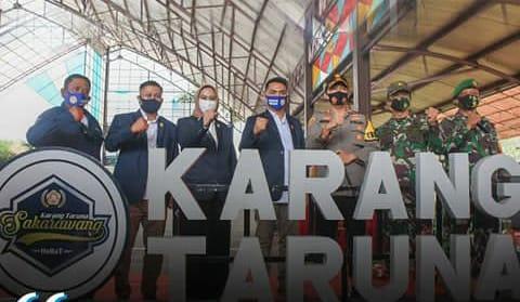 PELANTIKAN DAN PENGUKUHAN PENGURUS BARU KARANG TARUNA KABUPATEN KARAWANG MASA BAKTI 2019 – 2024