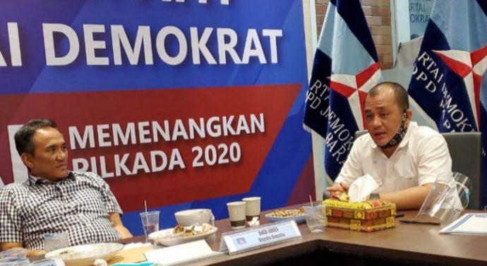 DPP PARTAI DEMOKRAT BERI REKOMENDASI PADA PASLON LASO DI PILKADA 2020.