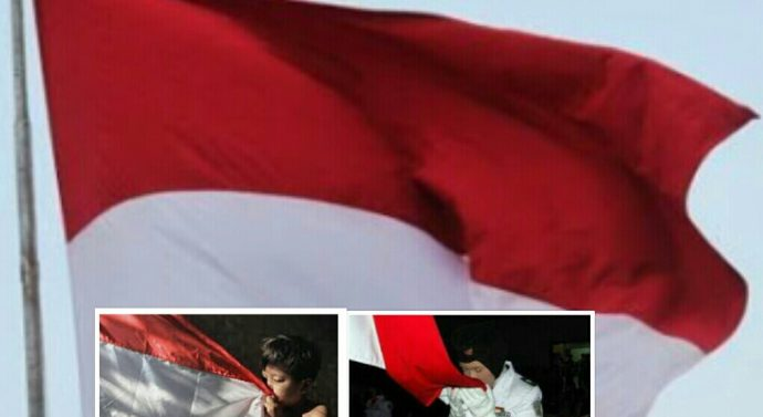 MASYARAKAT INDONESIA MESTI PEKA TERHADAP MAKNA PENGIBARAN BENDERA MERAH PUTIH