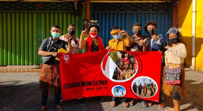 KELUARGA INDONESIA TIMUR KEMBALI BUAT ULAH DI PASAR SURABAYA