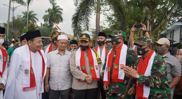 SIlaturahmi Kebhinnekaan dan Wawasan Kebangsaan bersama Wantimpres Maulana Al-Habib Muhammad Luthfi Bin Ali Bin Yahya.