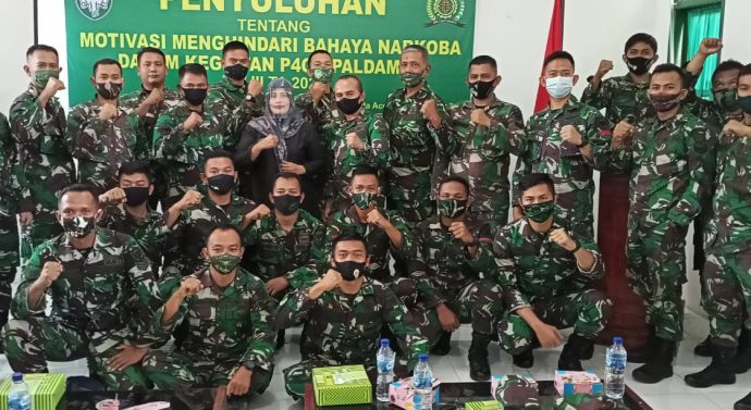 PALDAM ISKANDAR MUDA UNDANG KETUA UMUM IMC ACEH, DALAM RANGKA PENGUATAN KARAKTER DAN KEPRIBADIAN ANGGOTA TNI