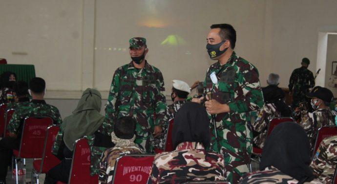 Dandim 0611/Garut Gelar Giat Garkomsos dengan Keluarga Besar TNI