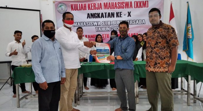 STIE BUMI PERSADA LHOKSEUMAWE LAKUKAN PEMBEKALAN MAHASISWA KKM TAHUN 2020