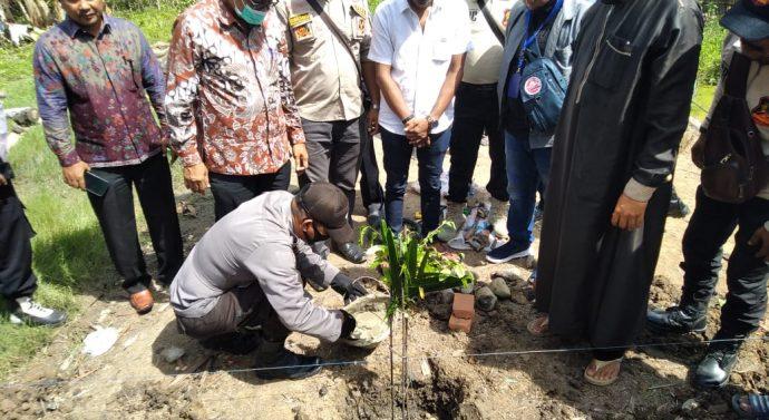 Peletakan batu pertama Rumah Syarkawi Gampong trieng pantang Akhirnya Dilaksanakan