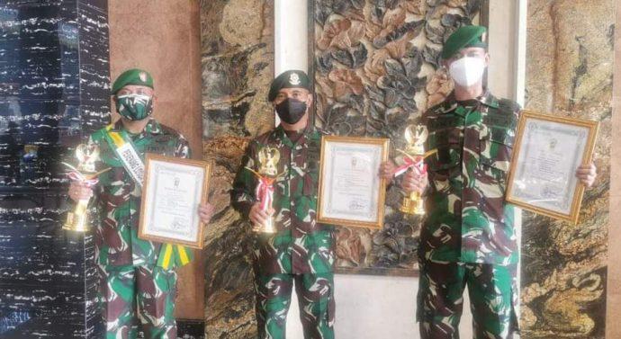 Danyonarmed 12/Divif 2 Kostrad, Sabet Juara Ke-2 Lomba Karya Tulis Teritorial TNI AD TA. 2020