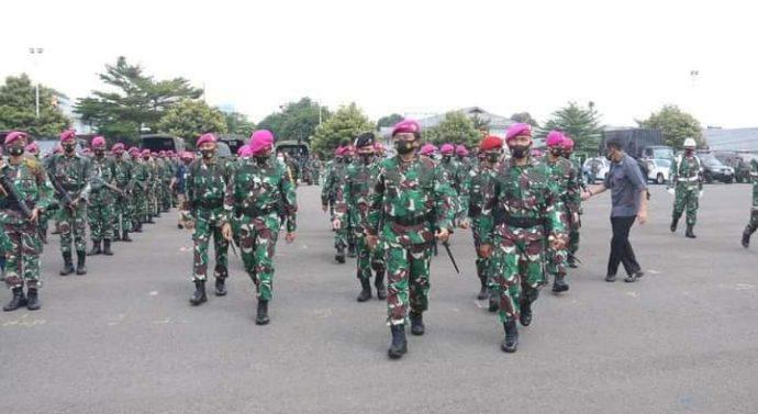 JAGA FROFESIONALISME PANGLIMA TNI SIDAK MARKAS MARINIR