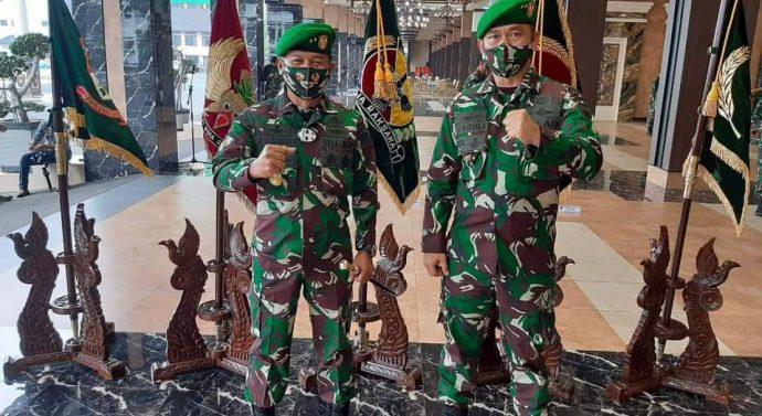 Jabatan Pangdam IX/Udayana secara resmi diserah terimakan dari Mayjen TNI Kurnia Dewantara kepada Mayjen TNI Maruli Simanjuntak,M.Sc.