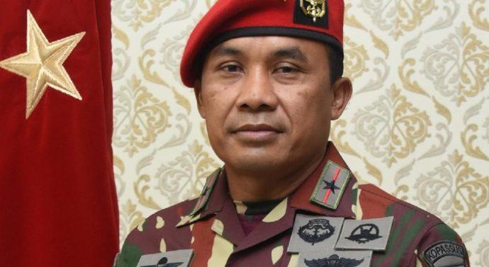 BRIGJEN TNI MOHAMAD HASAN MENJABAT DANJEN KOPASSUS