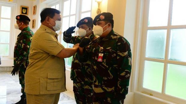 10 JENDERAL TNI KEMENHAN NAIK PANGKAT LAPOR KE PAK PRABOWO