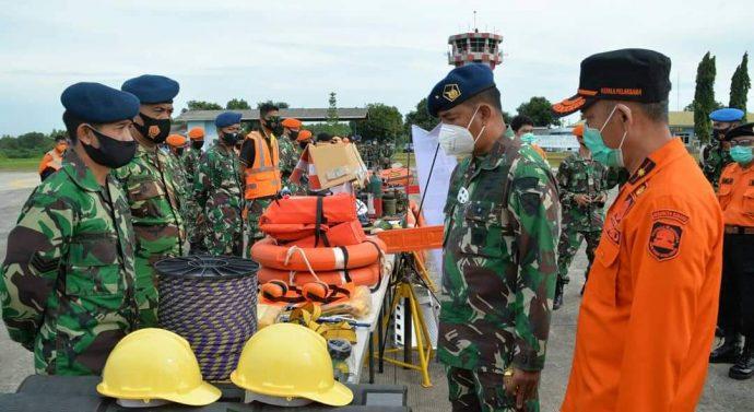 Lanud Suryadarma Gelar Apel Kesiapsiagaan Bencana Alam  Bersama BPBD Subang
