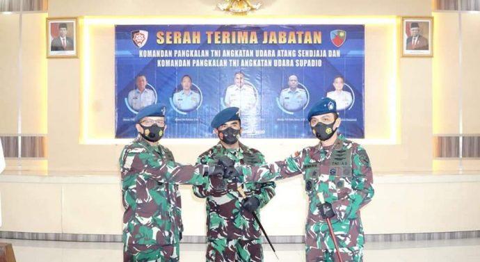 TONGKAT KOMANDO LANUD SUPADIO RESMI DIPEGANG MARSMA TNI DENI HASOLOAN SIMANJUNTAK